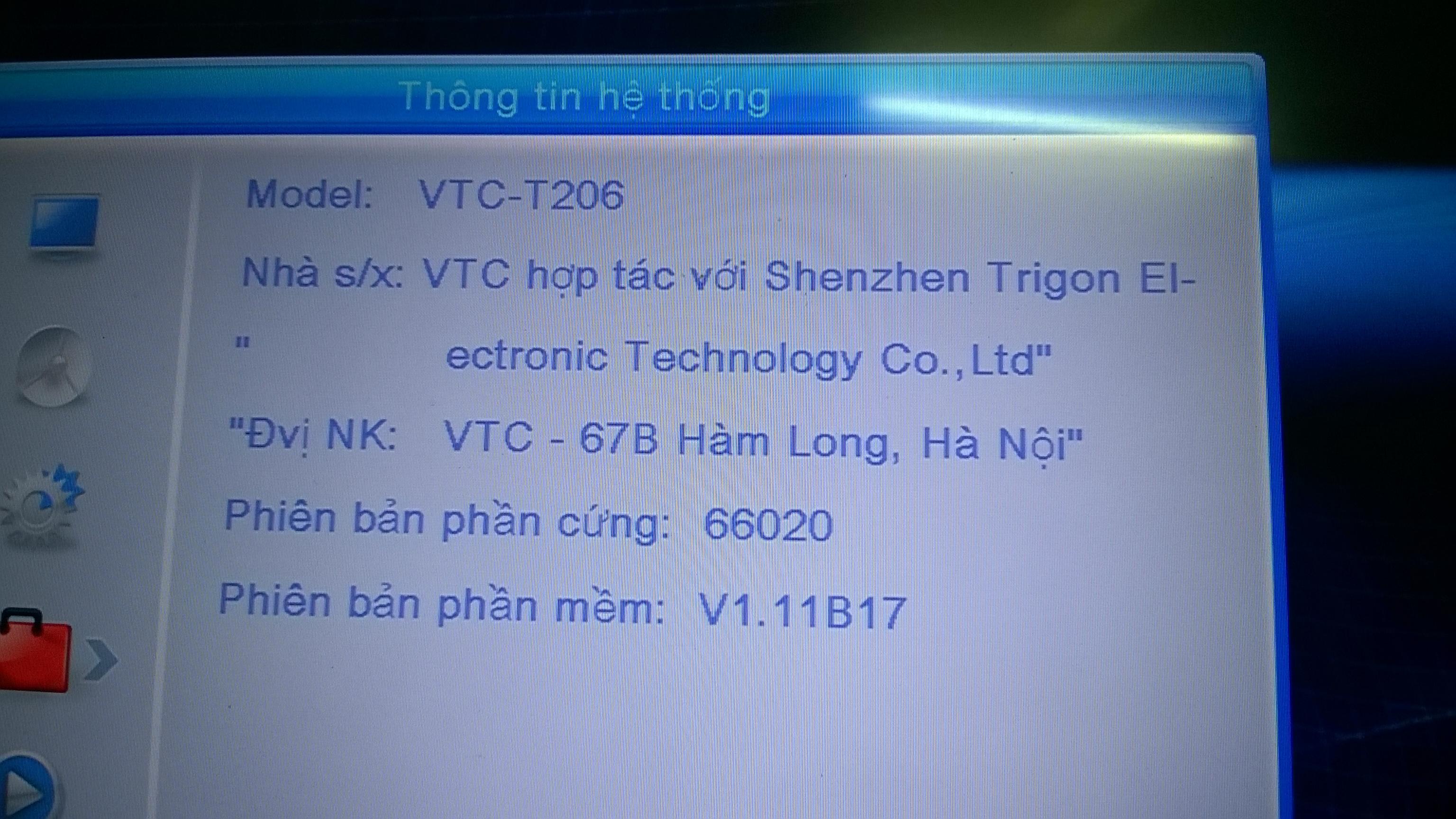 [Review] Cảm nhận nhanh về đầu thu kts mặt đất DVB T206 của VTC SiaOxW
