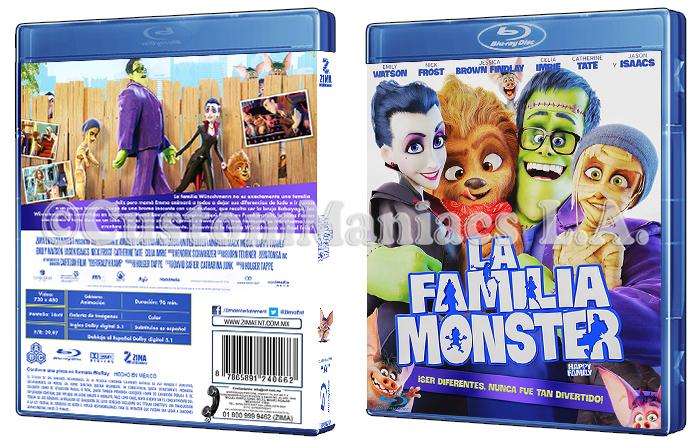 LIBERADA - La Familia Monster (Happy Family)  DVD + BLU-RAY HSjtoB