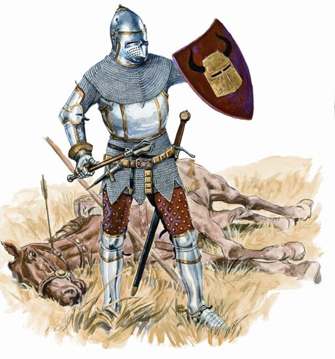Armaduras y armas de los caballeros ZCRQmT