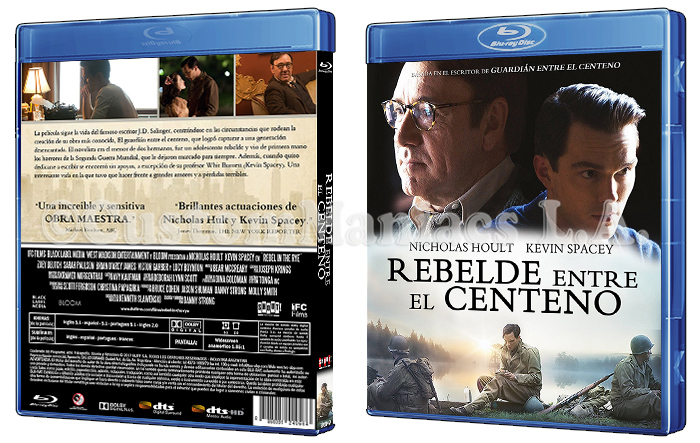 LIBERADA - Rebelde entre el centeno (Rebel In The Rye)  DVD + BLU-RAY GsEdEb