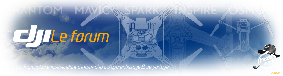 DJI Phantom, Mavic, Spark, Tello, Inspire & Osmo