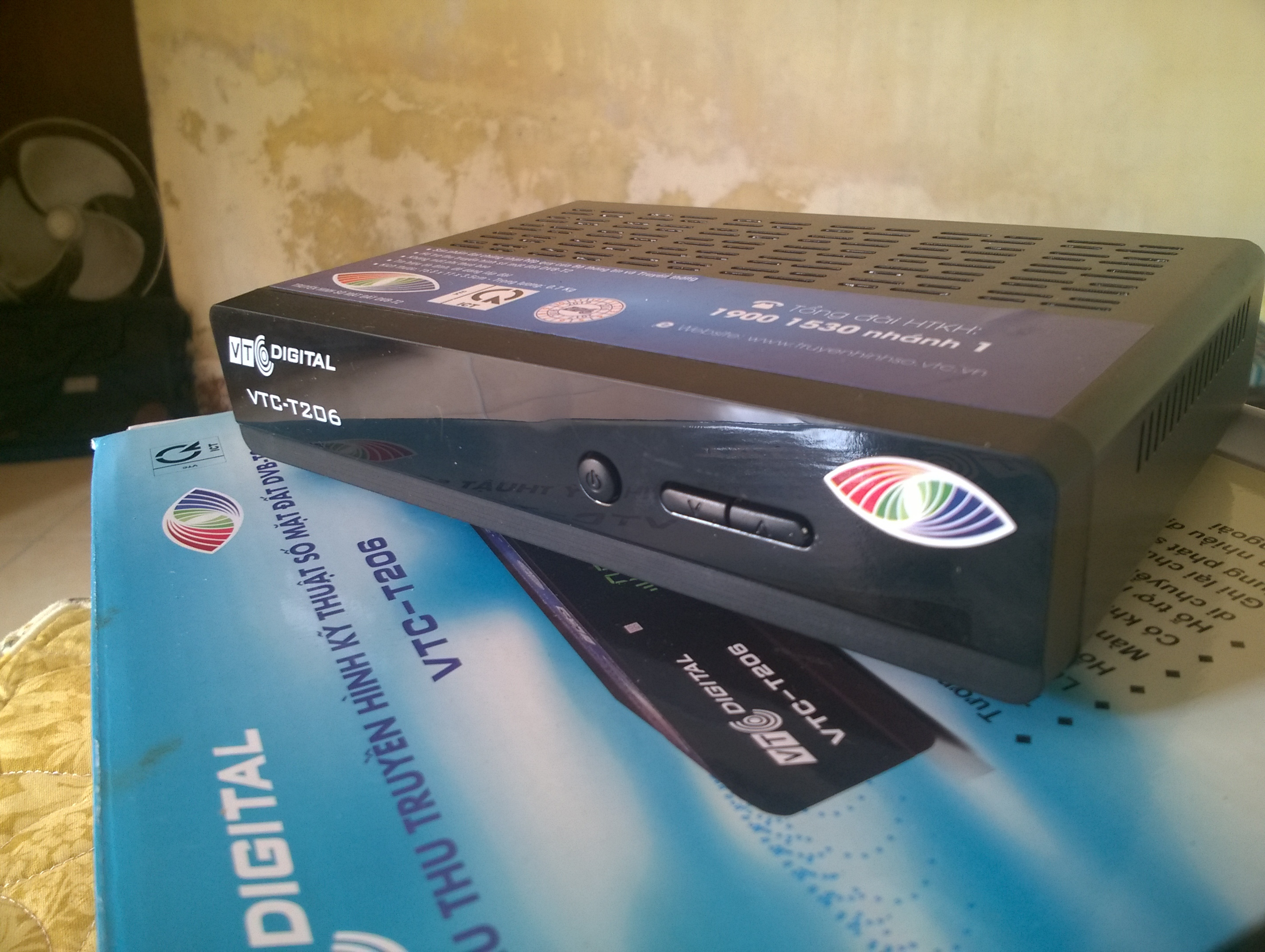 [Review] Cảm nhận nhanh về đầu thu kts mặt đất DVB T206 của VTC 6BKMx5