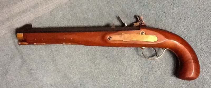 Pedersoli Kentucky Pistol - was it ever a smoothbore? KAiD6Y