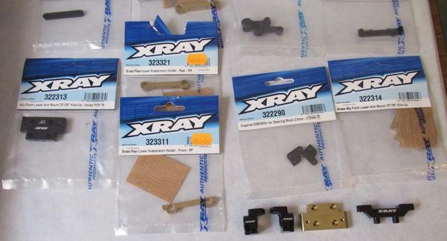 Lot d'options xray xb2 . Neuf  FaleCI