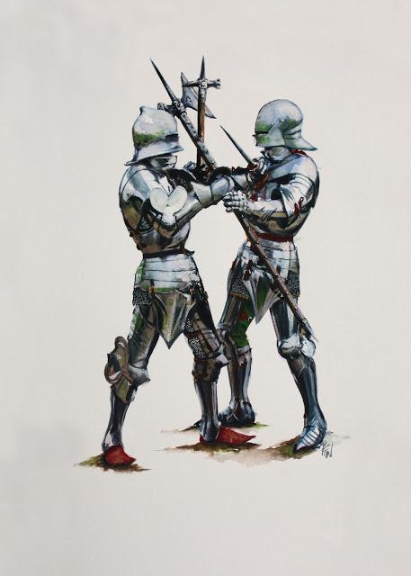 Armaduras y armas de los caballeros TQxpSf