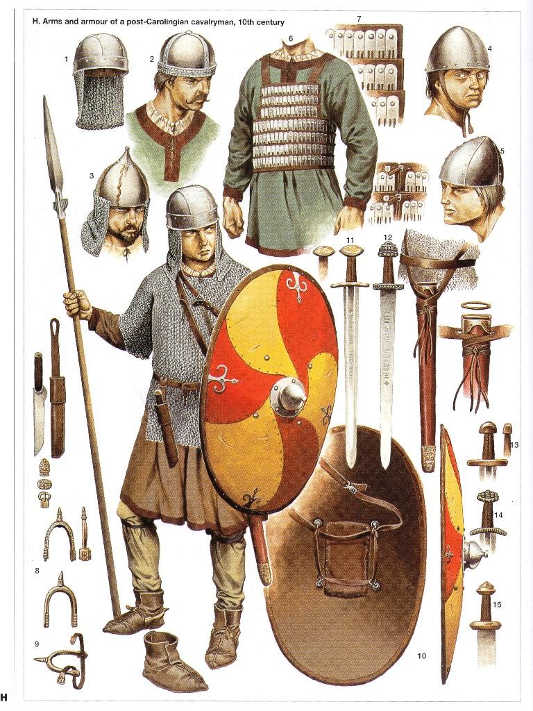 Armaduras y armas de los caballeros B5XGQZ
