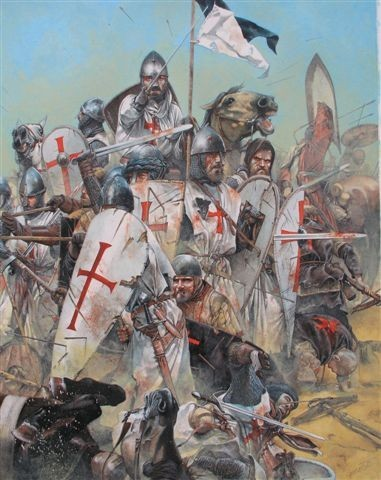 La Orden Militar del Temple (1118-1310) Armaduras, armas y equipamiento SsORBz