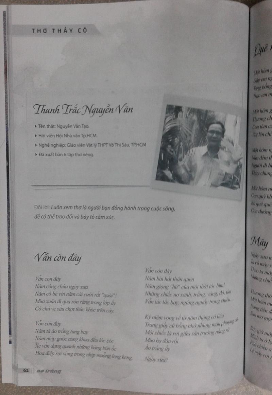 Thơ Thanh Trắc Nguyễn Văn trên sách báo 0adSDz