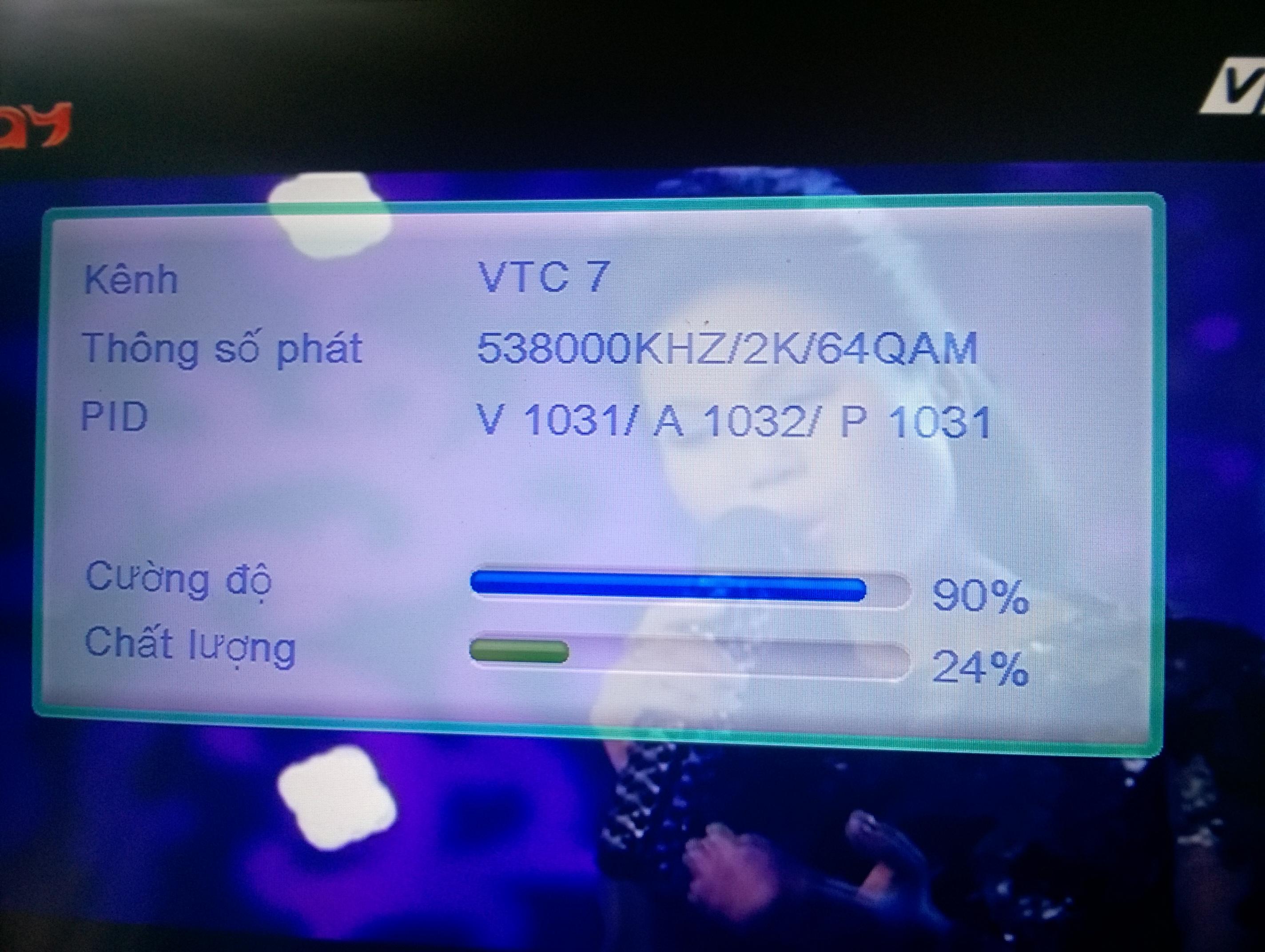 [Review] Cảm nhận nhanh về đầu thu kts mặt đất DVB T206 của VTC YO2J2D