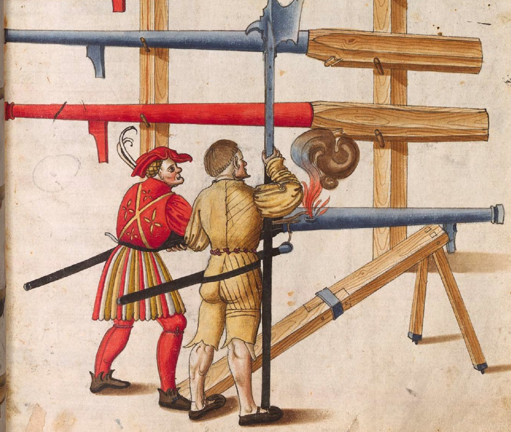 Libro de armamentos del emperador Maximiliano I (1502) Gos6hO