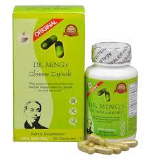 كبسولات دكتور منغ (الشاي الأخضر) للتنحيف