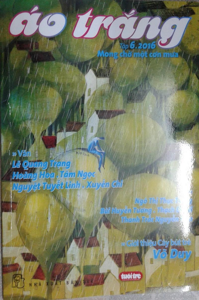 Thơ Thanh Trắc Nguyễn Văn trên sách báo DnfgTn