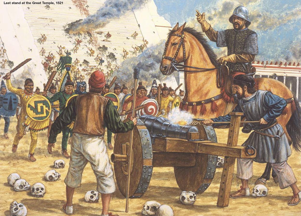 Armamento y equipo de los conquistadores españoles en el norte de América WeYuFo