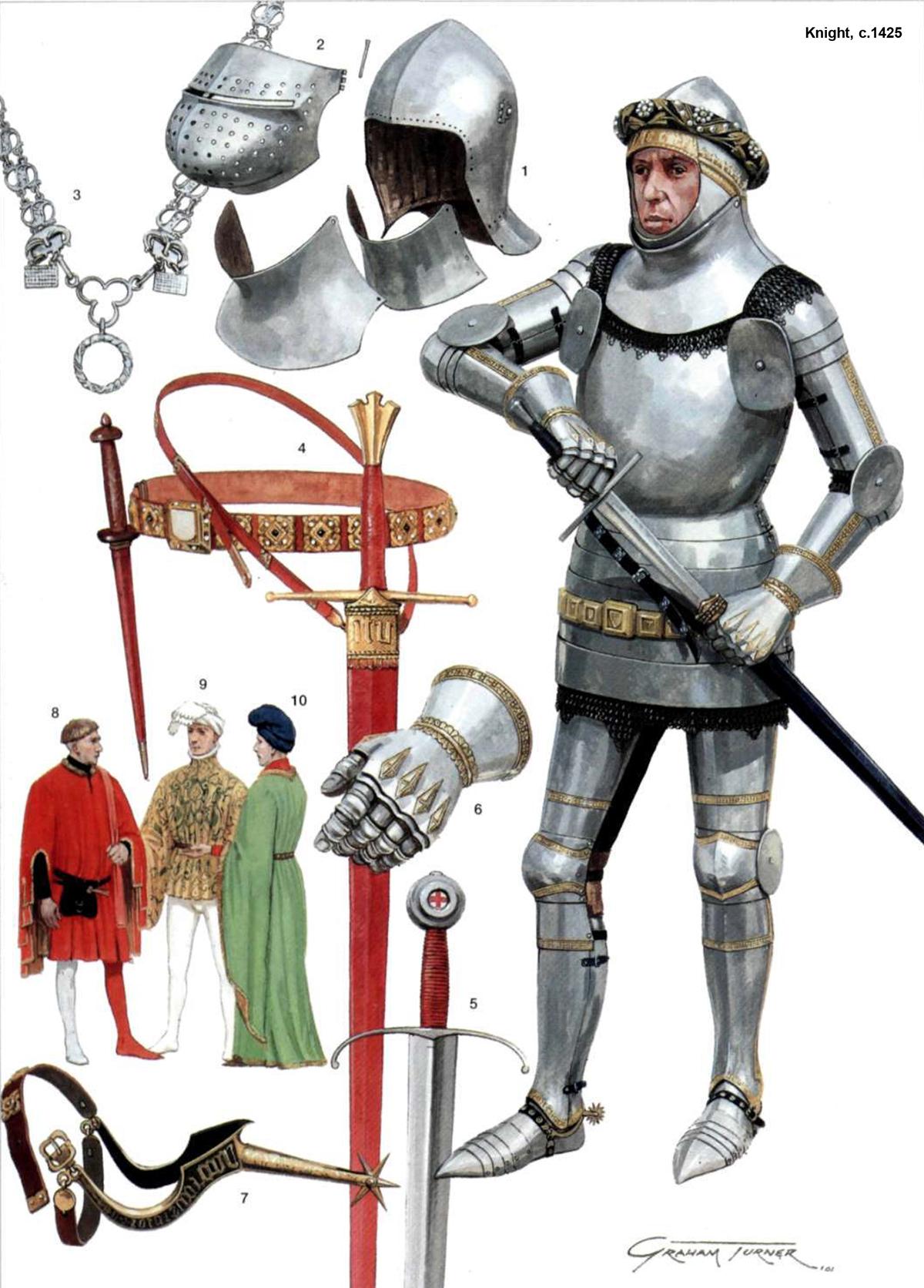 Armaduras y armas de los caballeros TDzoRk