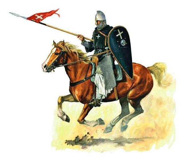 Evolución del aspecto en combate de los caballeros hospitalarios (1160-1480) 4G4WOW
