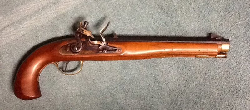Pedersoli Kentucky Pistol - was it ever a smoothbore? WDtAOO