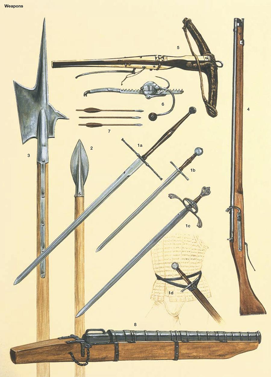 Armamento y equipo de los conquistadores españoles en el norte de América C0elAe