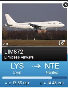 A320 de Limitless Airways ENDlgf