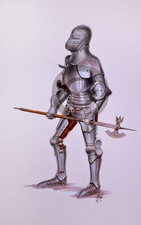 Armaduras y armas de los caballeros LZggix