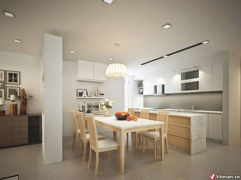 Thiết kế phòng bếp tuyệt đẹp – tiện nghi cho các căn hộ chung cư QI4buW
