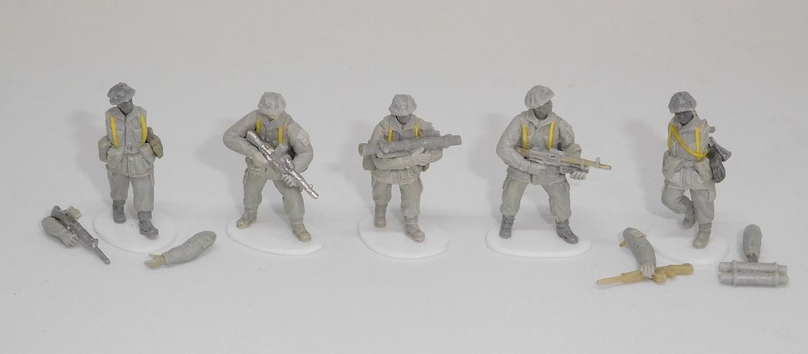 New 20mm BAOR sculpts from Under Fire Miniatures AUF772