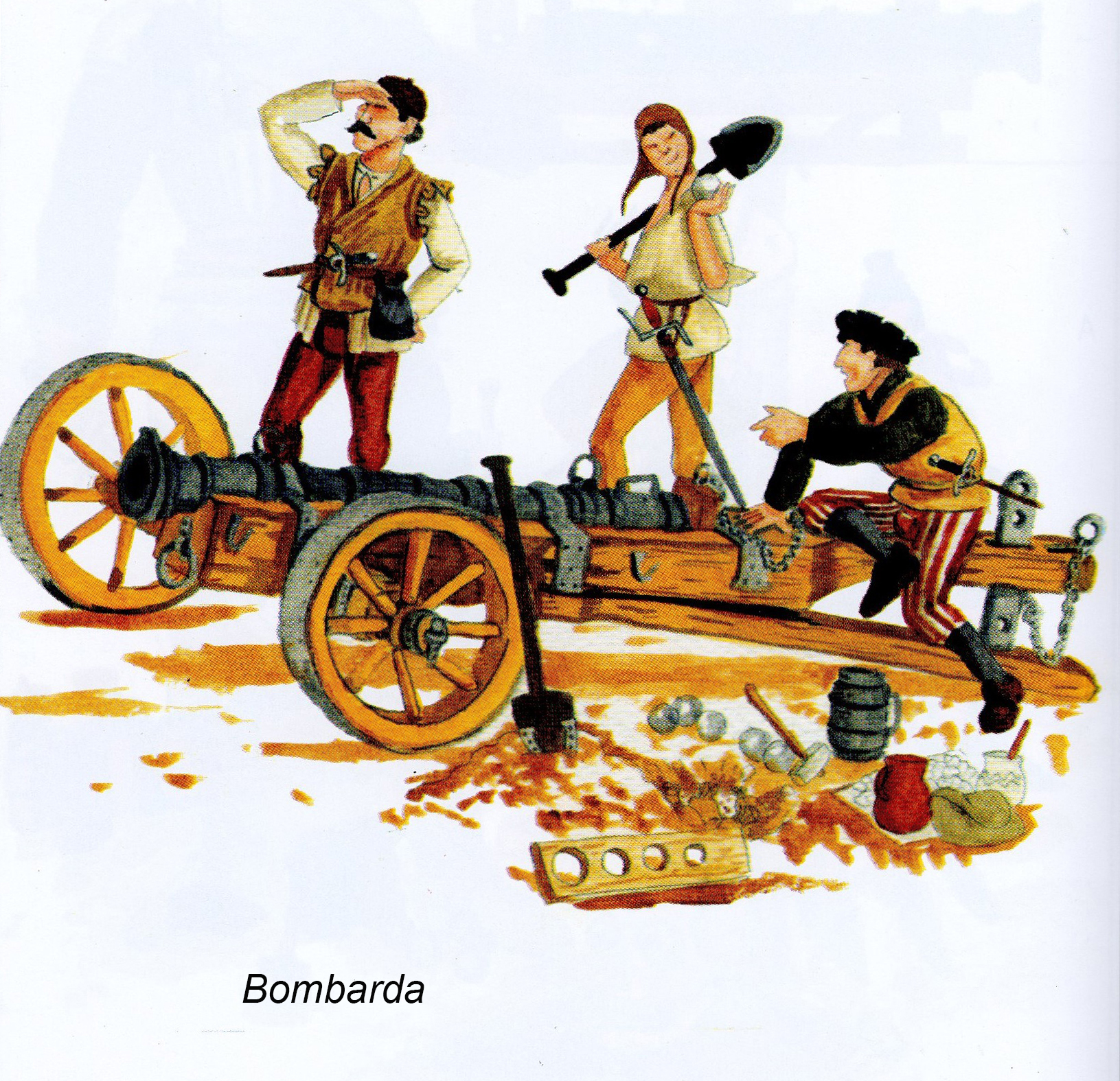 Armamento y equipo de los conquistadores españoles en el norte de América UGZwuO