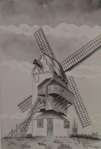 De molens van Frans-Vlaanderen Jbpz