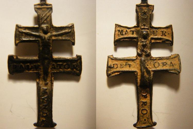 Cruz de cuatro brazos Moneda002copy