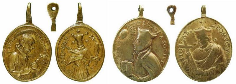 San Luis Gonzaga / San Juan Nepomuceno - MR(325) (R.M. SXVIII-O190) Svjs