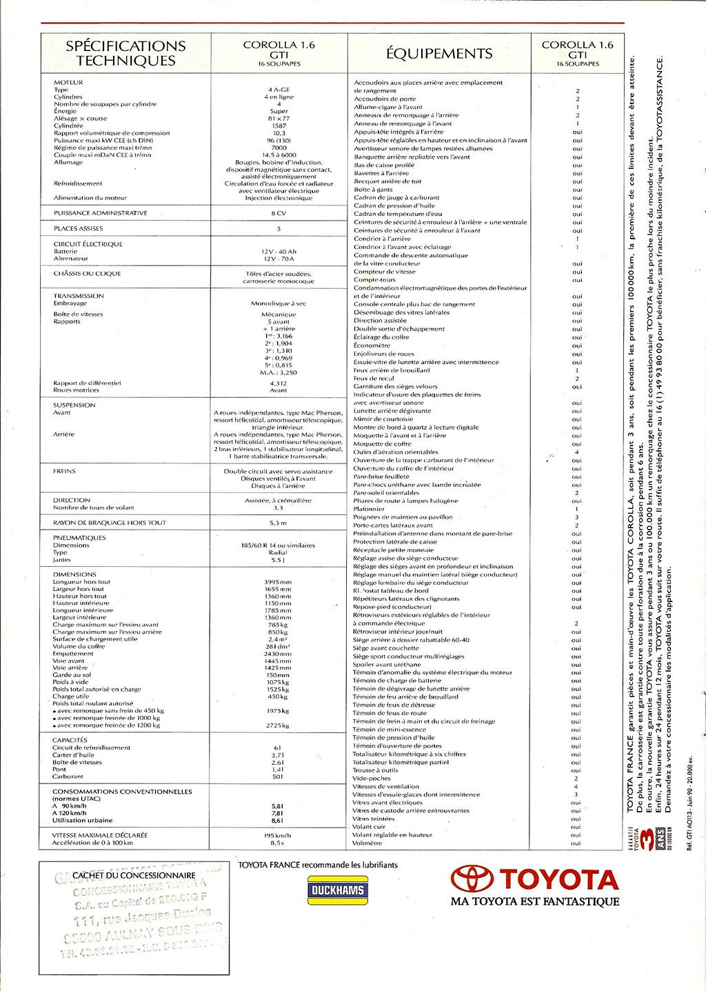 La E90 dans la presse. Toyotacorollagti16g