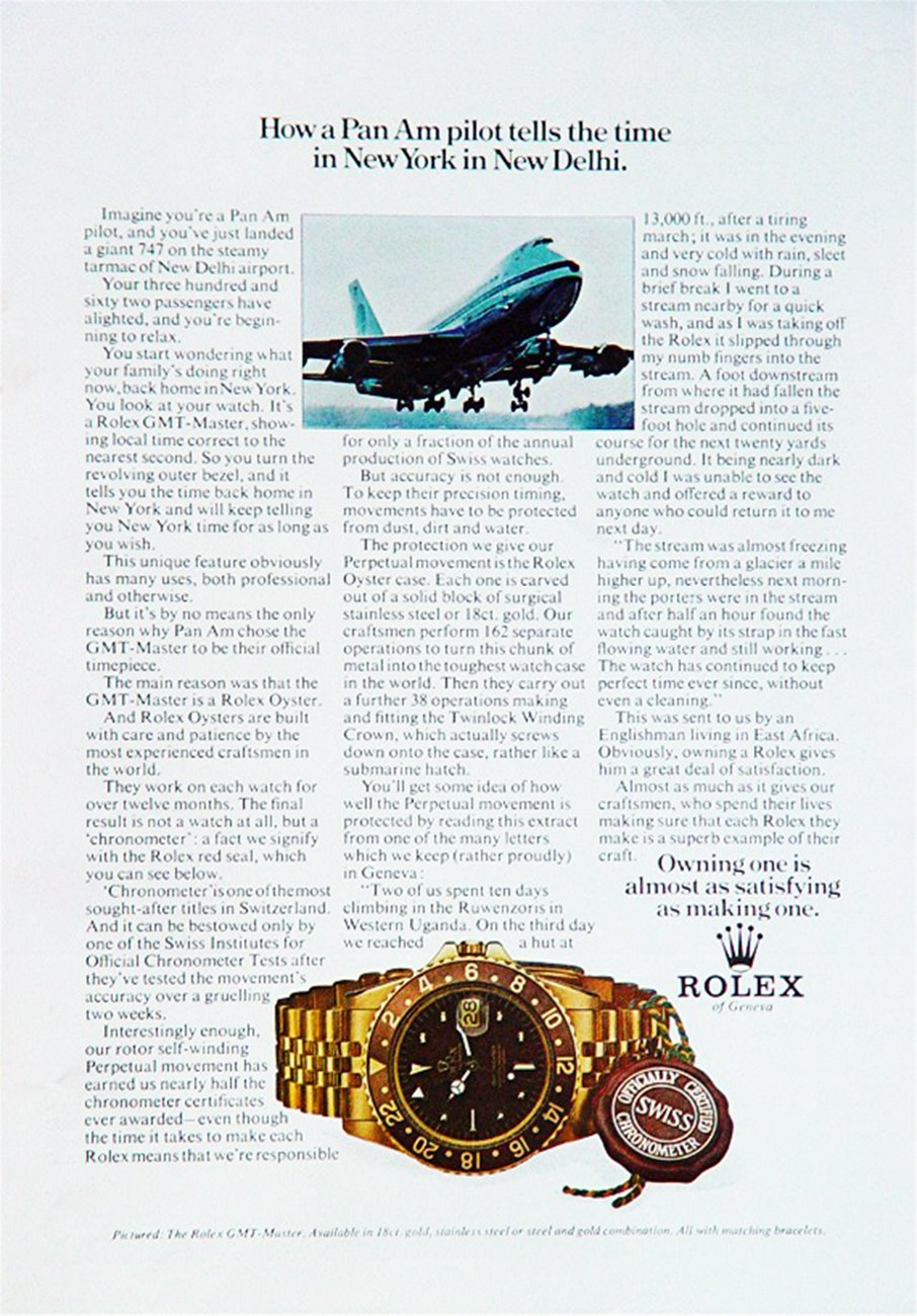 "STEINHART ""OCEAN One Vintage DUAL Time PREMIUM"" Panamandrolexad1675yg"