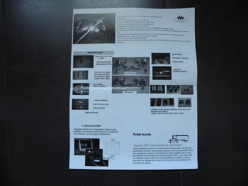 Echappement inox POWER MOTIVE 94n3