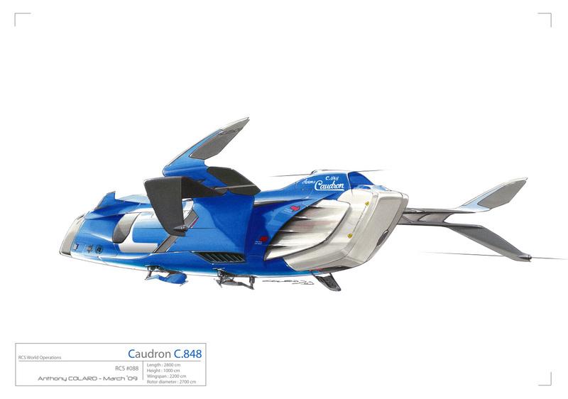 Caudron C.848 - Projet de diplôme Rendu5lrs