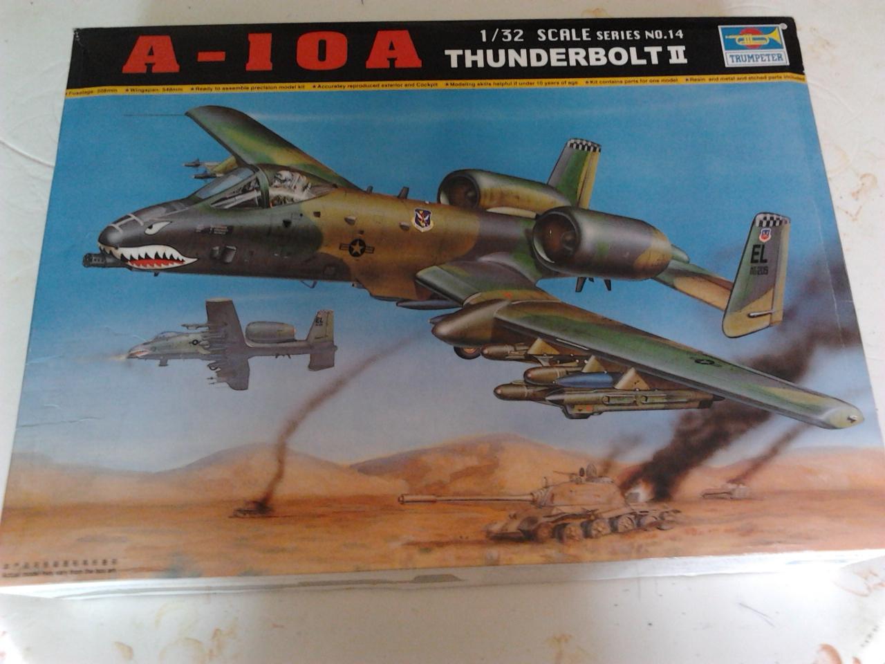 A-10 Thunderbolt II...1/32 Trumpeter + PE Edouard....( T-Bird) Up 02/12... 20120425141757