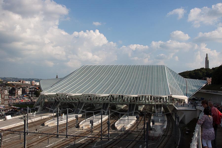 Nouvelle gare de Liège Guillemins Mg79352009091950d