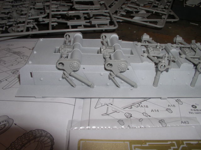 Stryker 1132 mine roller 1/35 Trumpeter Dio terminé 46810130