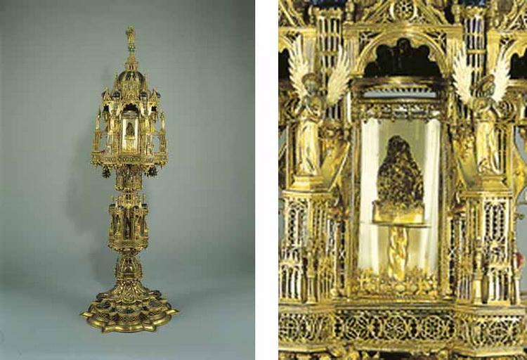 San Juan Nepomuceno / Reliquia Sagrada Lengua, S. XVIII Jcc4
