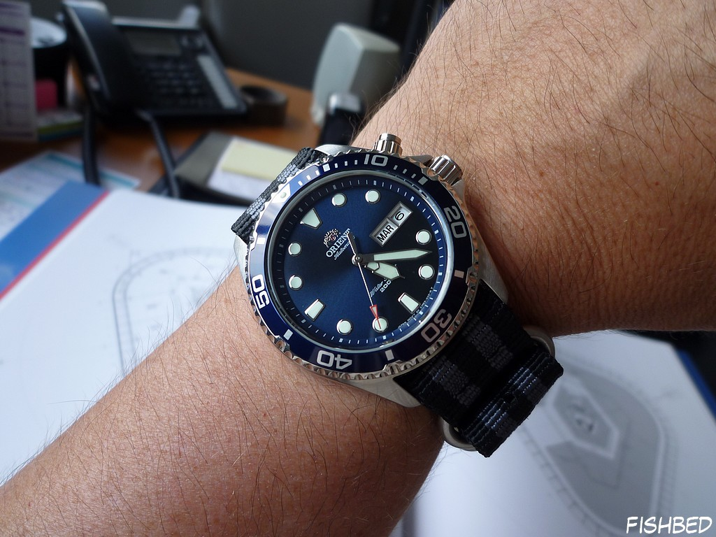 Orient EM6500 Ray Blue E08n