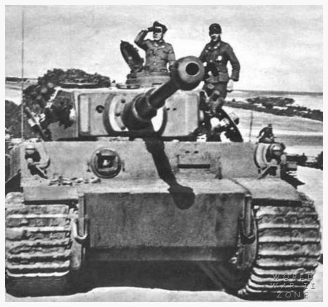 Tiger I du sPzAbt. 501 en Tunisie 1943 60088895