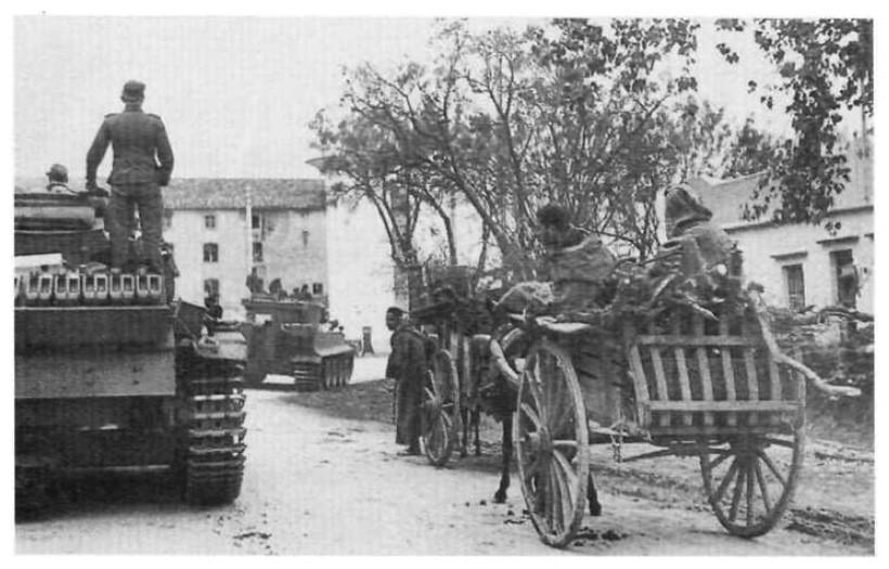 Tiger I du sPzAbt. 501 en Tunisie 1943 Tigerinr223spzabt501tun