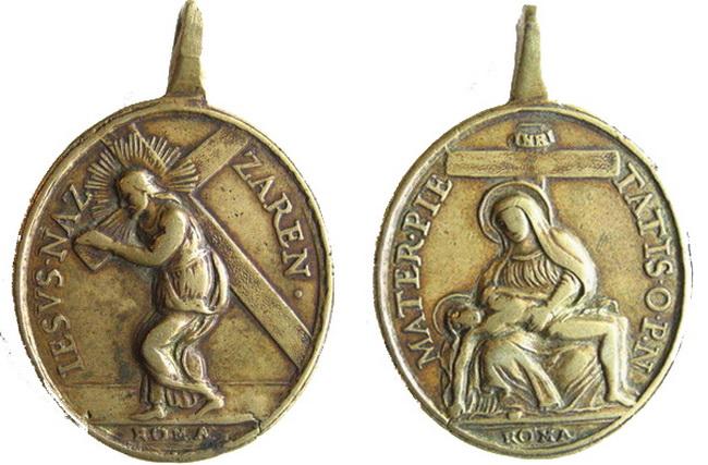 Recopilación medallas con el Rostro de Cristo ( Salvator Mvndi II) Stpa