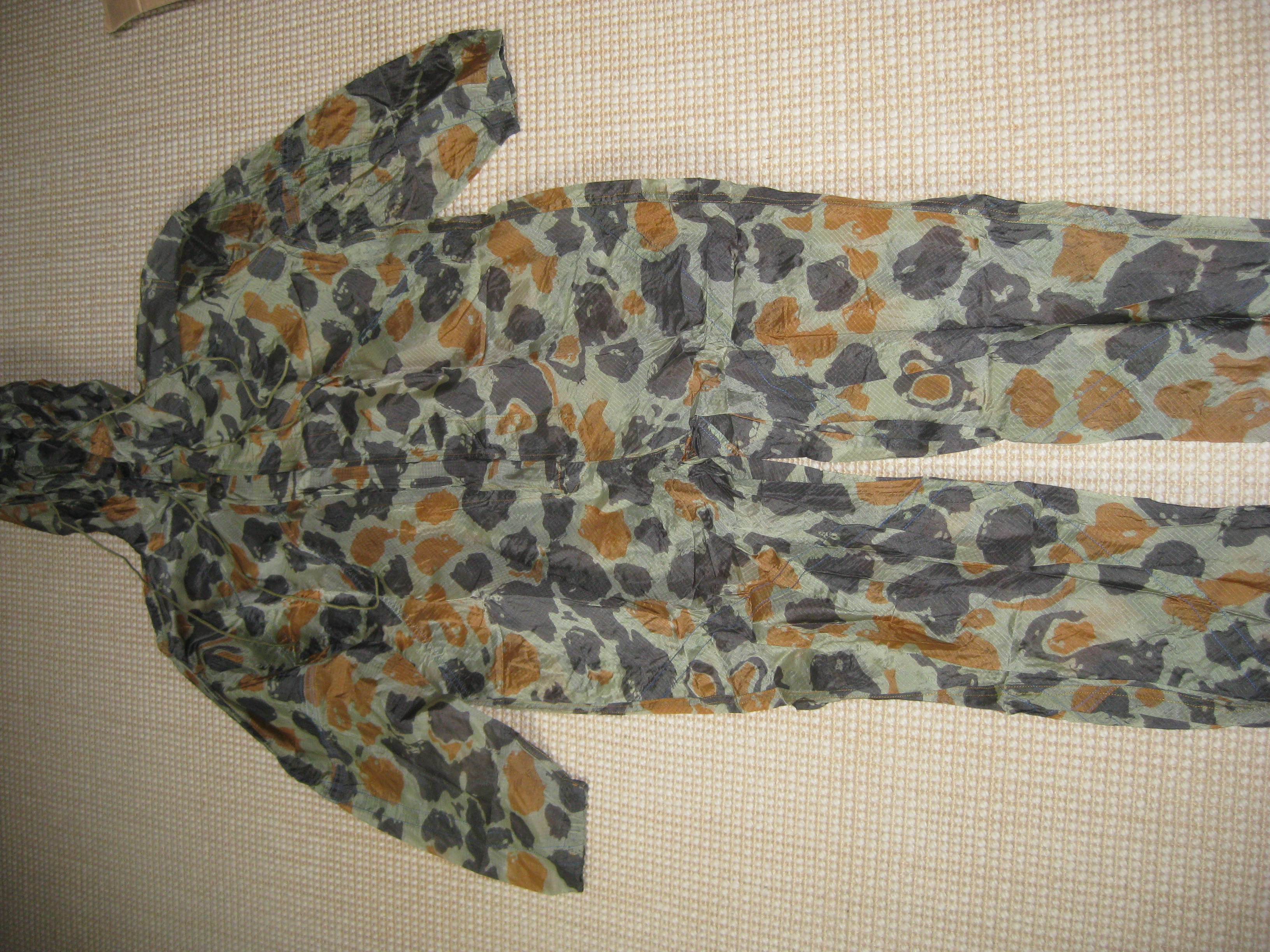 paratrooper garment camouflage build in parachute material Picture024b