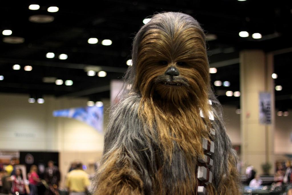 Star Wars Celebration VI du 23 au 26 Août 2012 Chewie
