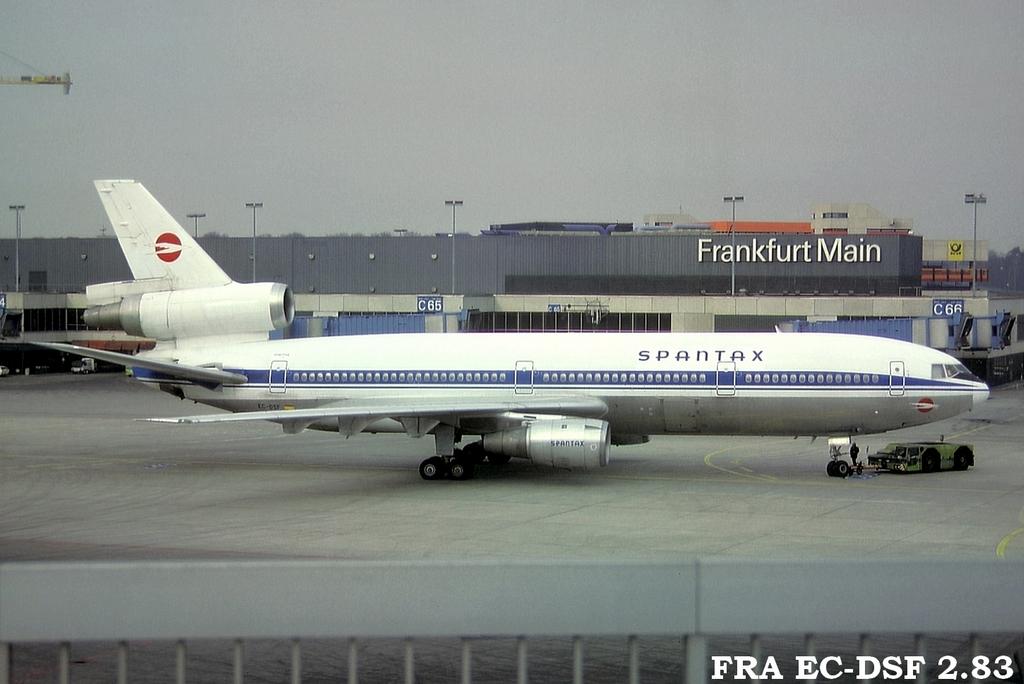 DC-10 in FRA Fraecdsf