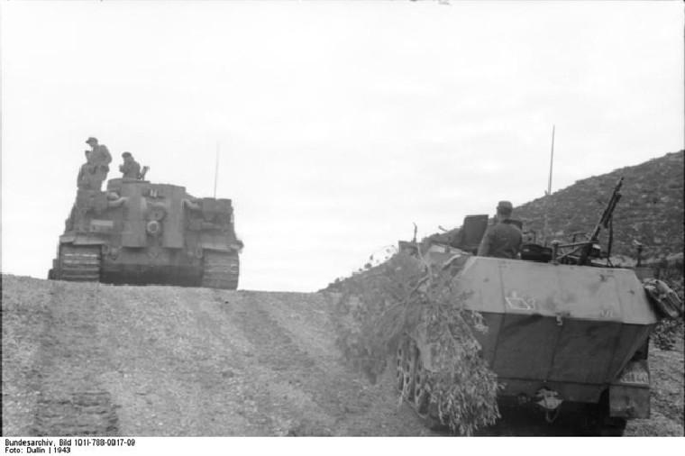 Tiger I du sPzAbt. 501 en Tunisie 1943 Tigerinr142spzabt501