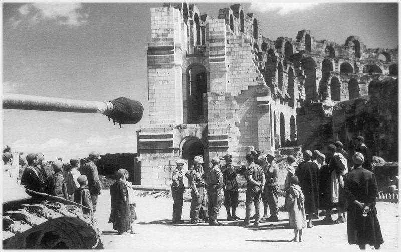 Tiger I du sPzAbt. 501 en Tunisie 1943 Eldjem