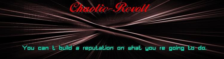Chaotic revolt