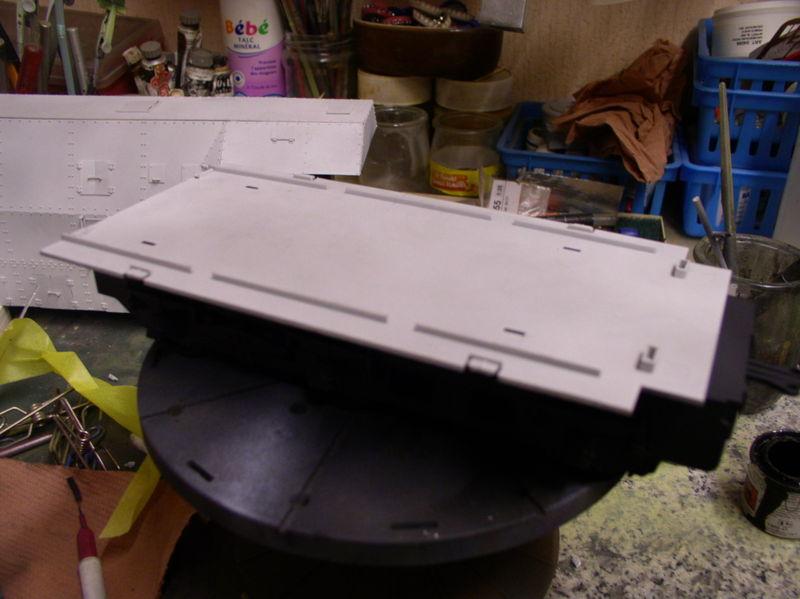 peinture - (Thunderbird) BR 57 Baureihe Panzerlok (Peinture en cours)  - Page 2 116dm