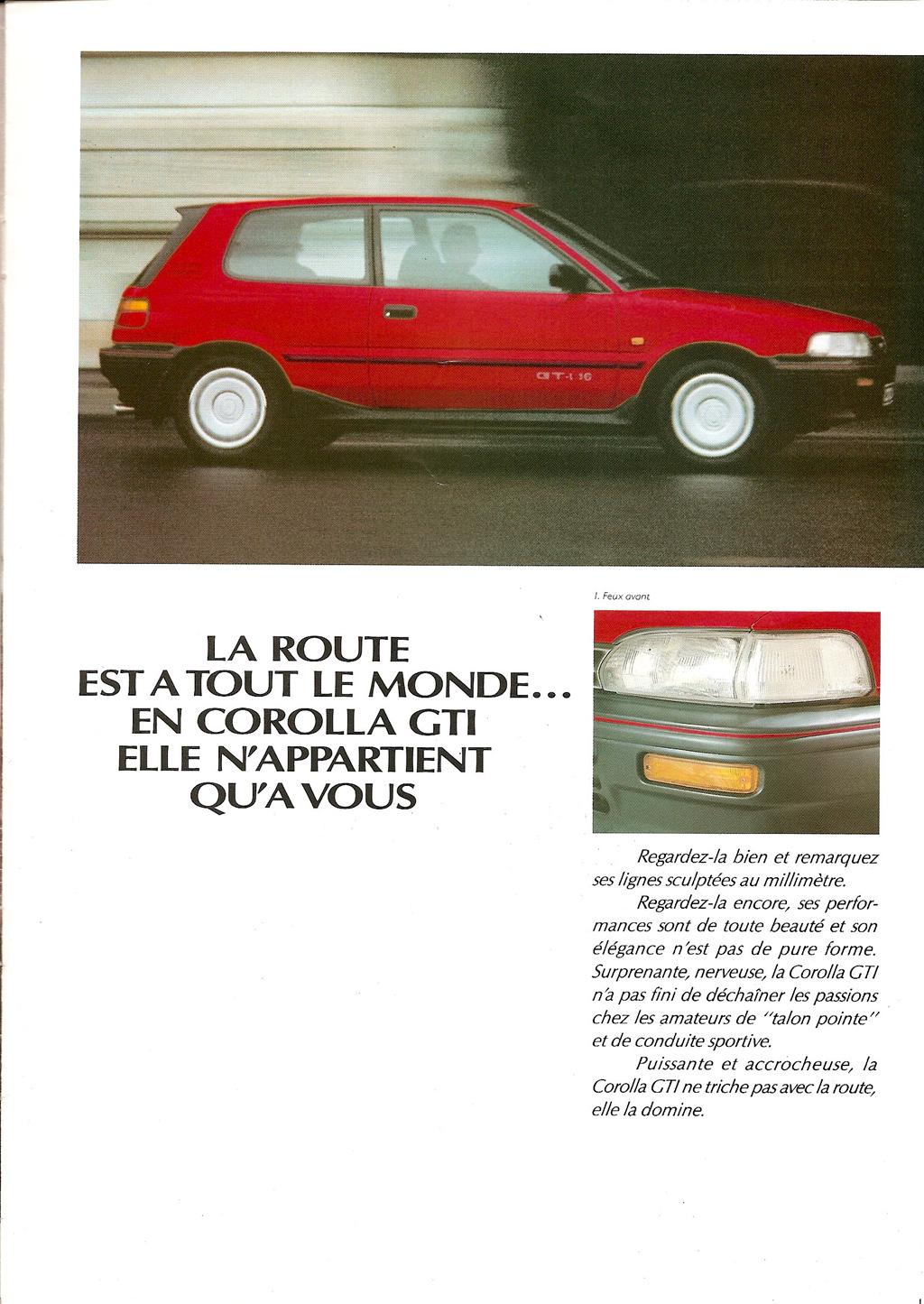 La E90 dans la presse. Toyotacorollagti16c