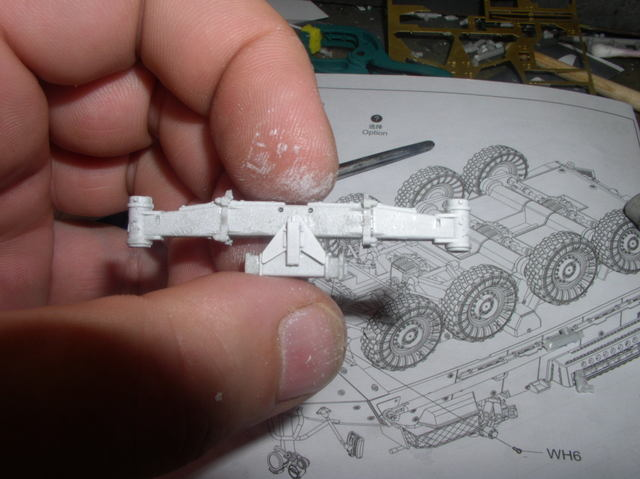 Stryker 1132 mine roller 1/35 Trumpeter Dio terminé 83649722